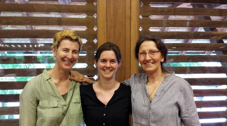 3 - Monica, Sabrina & Margrit - Dhammapalas secretaries