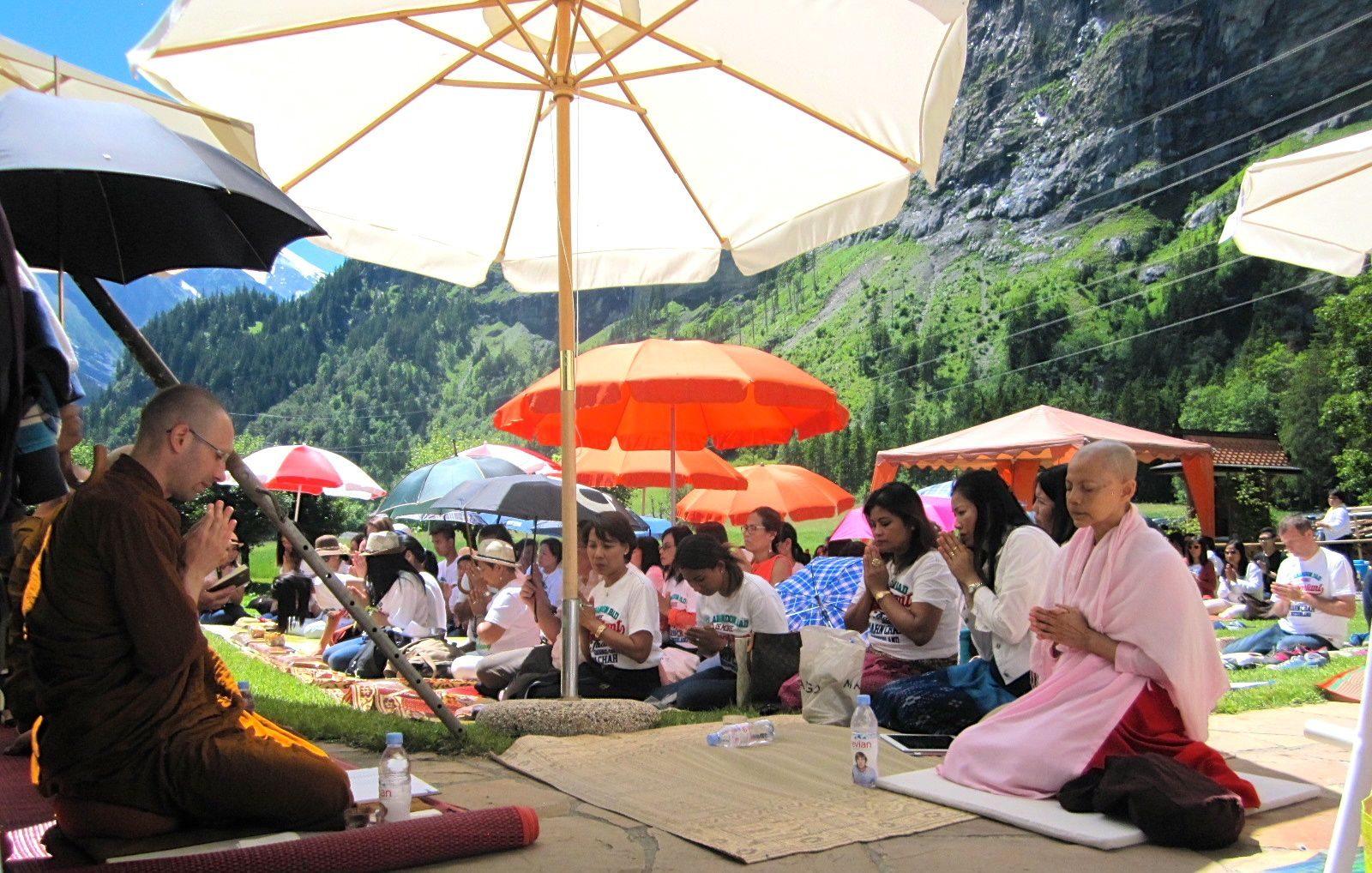 Buddhistische Nonne