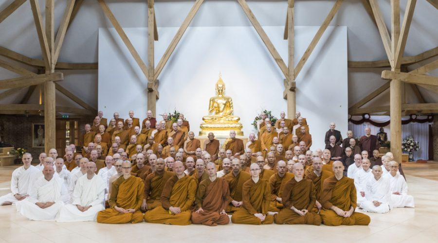 The complete Sangha