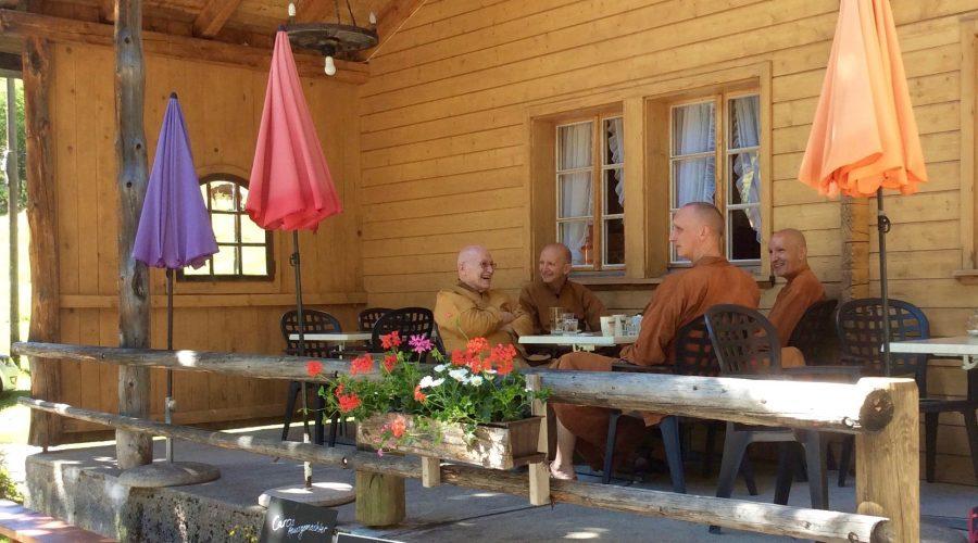 Tea at the Steinbock restaurant