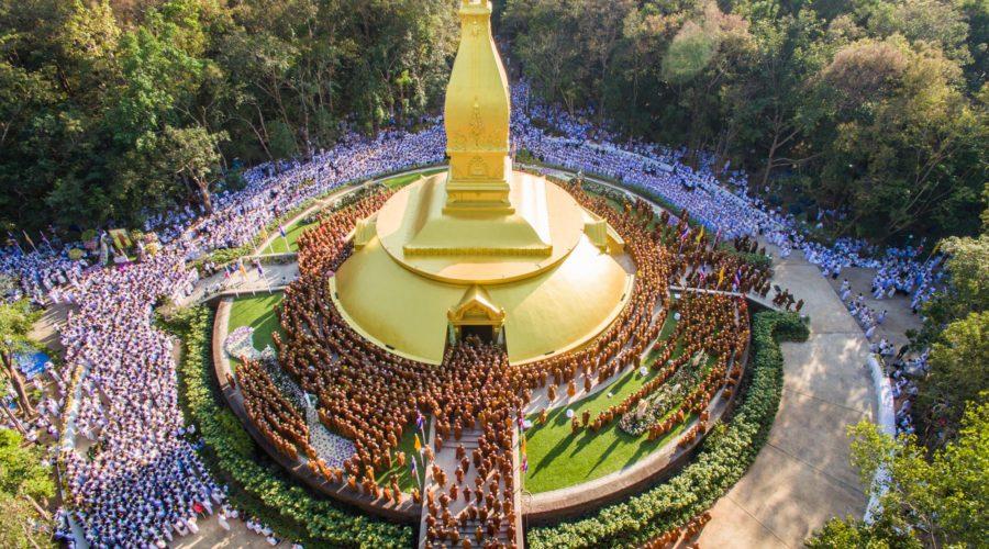 Ajahn Chah Stupa in Wat Nong Pah Pong