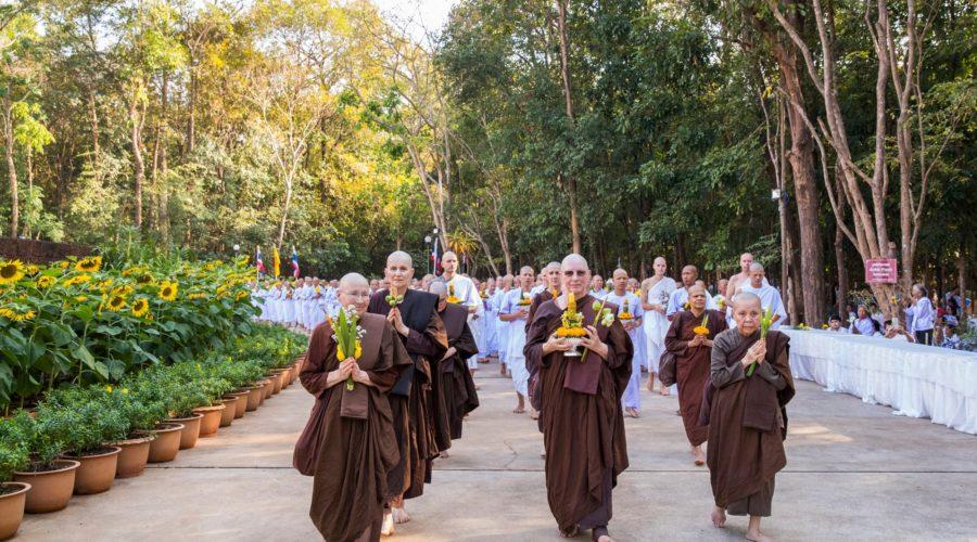 siladhara nuns procession